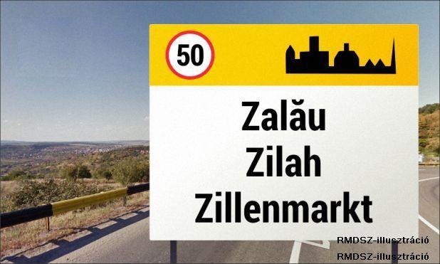 Háromnyelvű helységnévtáblákat helyeznek ki Zilahon