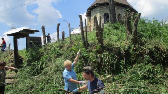 Összefogás a szórványért – egyházmegyei közmunka Magyarderzsén és Magyarfodorházán