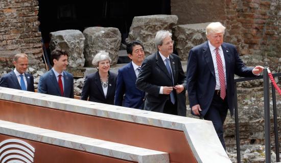 A saját határok védelmének jogát hangsúlyozza a G7-csúcs zárónyilatkozata