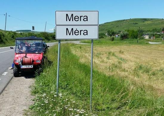 Visszakerült Mérába a magyar nyelvű helységnévtábla