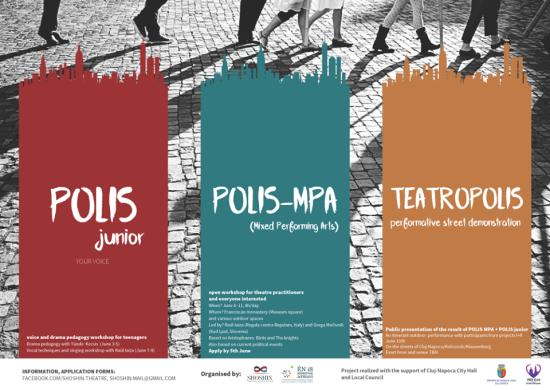 Utcaszínházi esemény Kolozsváron