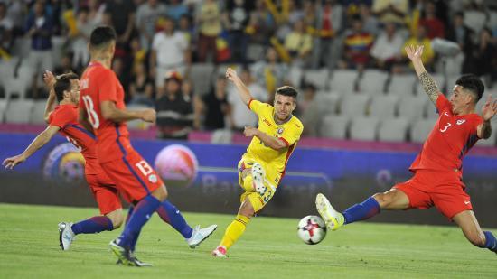 Románia legyűrte Chilét