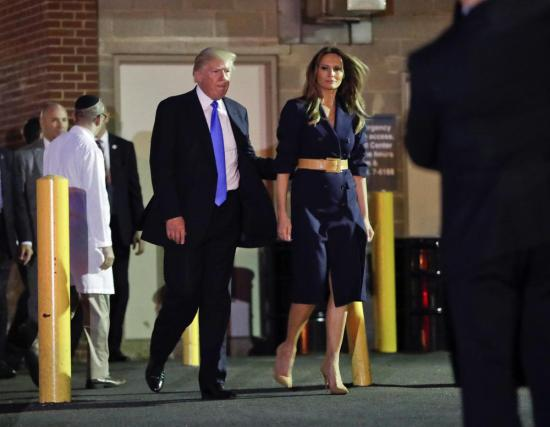 Donald Trump elnök meglátogatta a kórházban az alexandriai lövöldözés áldozatait