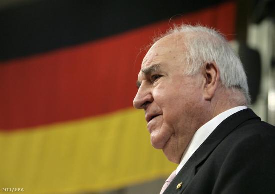 Helmut Kohl halála – Merkel: Kohl bevonult a történelembe