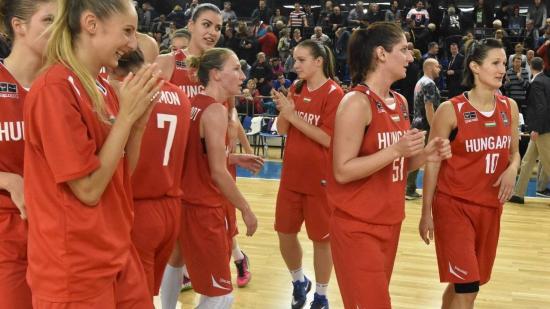 Női kosárlabda Eb - Legyőzték a házigazdákat és nyolcaddöntőben a magyarok