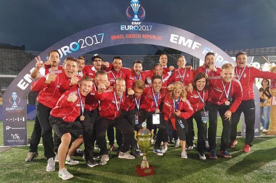 Minifutball Eb: magyar bronzérem Románia legyőzésével