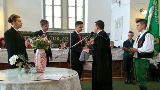 Végzős szakiskolásait búcsúztatta a Kolozsvári Református Kollégium