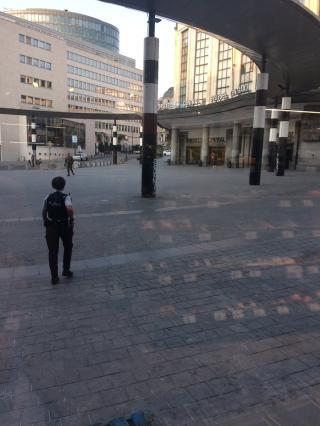 Merényletkísérlet miatt kiürítették Brüsszel főterét és a város egyik pályaudvarát