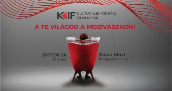 Kulturális Ifjúsági Filmnap a Dacia moziban