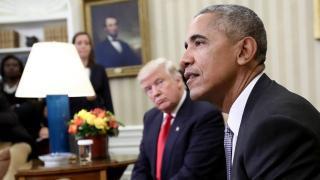 Donald Trump tétlenséggel vádolja Barack Obamát