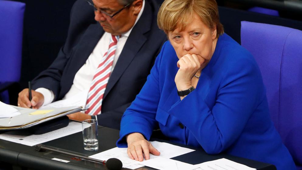 Angela Merkel nemmel szavazott