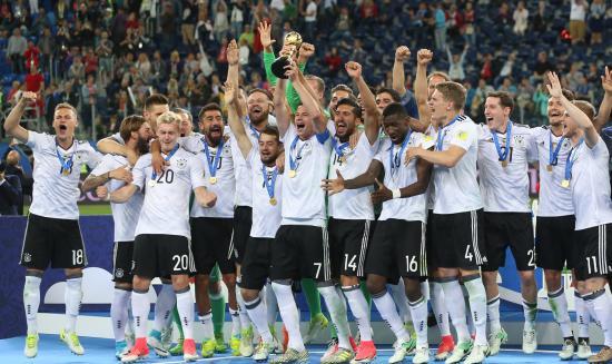 Konföderációs Kupa: német győzelem, portugál bronzérem