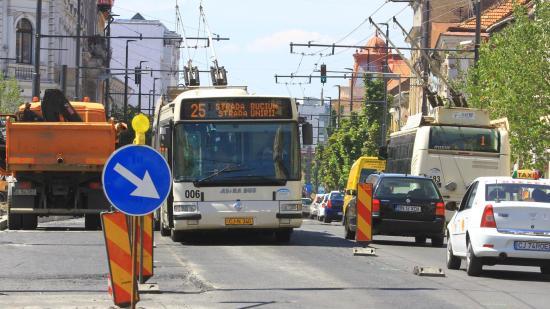 Újabb közszállítási sáv a belvárosban szeptembertől