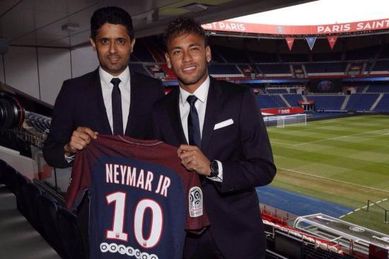 Rekorddal ért véget a Neymar-szappanopera