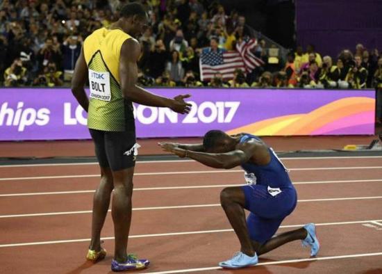 Bolt harmadik lett, Gatliné a 100 méter aranyérme