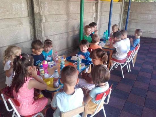 Nyári óvoda a Gyermekvilág óvodában