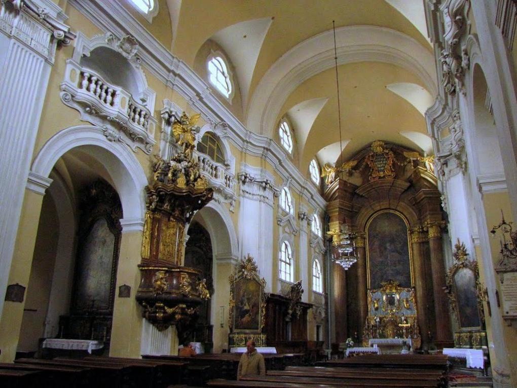 A Piarista templomban augusztus 15-én 11 órakor magyar nyelven mutatnak be ünnepi búcsús szentmisét