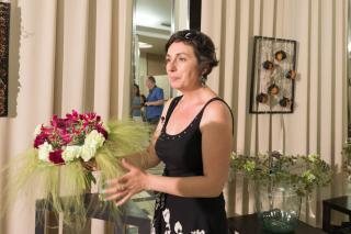 Bor és virág művészete az Egyetemiek Házában
