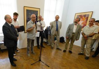 Csángó festő alkotásai a Művészeti Múzeumban