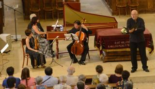 Bach-művek a Savaria Barokk Zenekartól