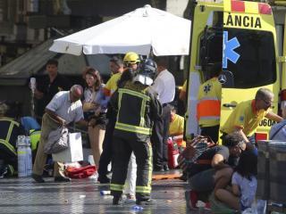 A barcelonai gázolás feltételezett elkövetője akár újra járókelők közé hajthat