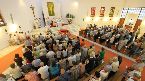 Szent István-napi búcsú a Dónát úti Szent István-templomban