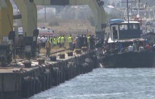 Migránsokat szállító halászhajót fogtak el Mangaliánál