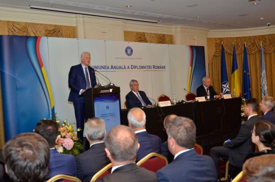 A román diplomácia figyelme is az 1918-as egyesülésre irányul