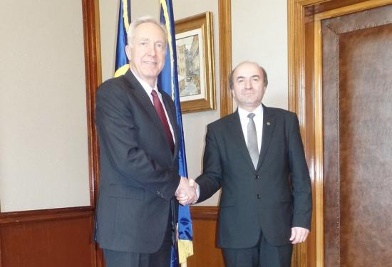 Két órát tárgyalt az amerikai nagykövet az igazságügy-miniszterrel