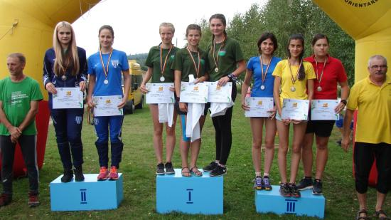 Nyolc aranyérem a tájfutó országos bajnokságokon