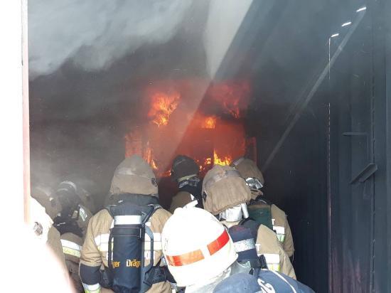 Kiállták a tűzpróbát a kőrösfői tűzoltók