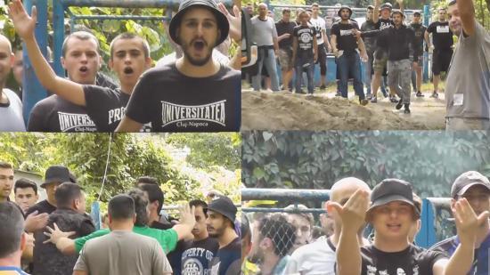 Súlyos magyarellenes incidens, főszerepben az U huligánjaival