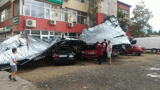 Temesvár: 122 kilométeres óránkénti sebességgel tombolt a szél
