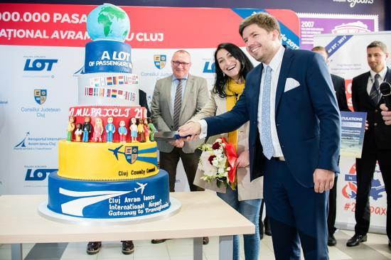 Meghaladta a kétmilliót a kolozsvári reptér utasforgalma
