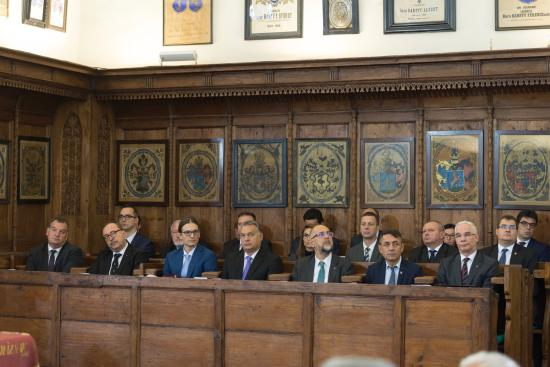 VIDEÓ - Kezdetét veszi a Reformáció 500 jubileumi ünnepség Kolozsváron