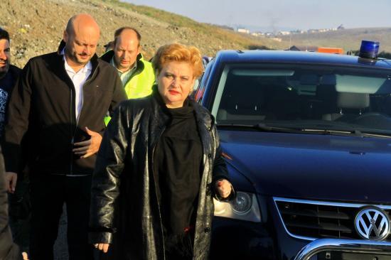 Menesztené a Környezetvédelmi Őrség vezetőjét Gavrilescu