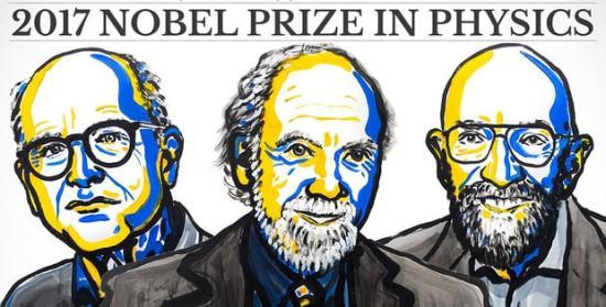 A gravitációs hullámok kutatásáért hárman kapják a fizikai Nobel-díjat