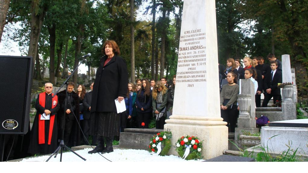 A szabadságharc nem magyar mártírjairól is beszéltek Aradon