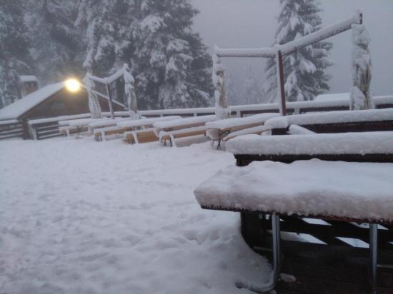 Sok hó hullott a hegyvidéken