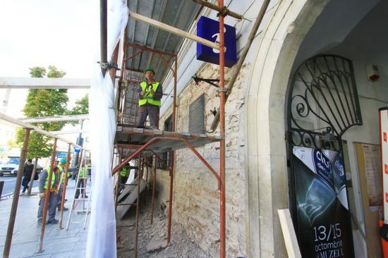 Elkezdték a Redut épületének restaurálását