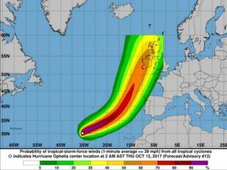 Riasztások, iskolabezárások Írországban és Nagy-Britanniában