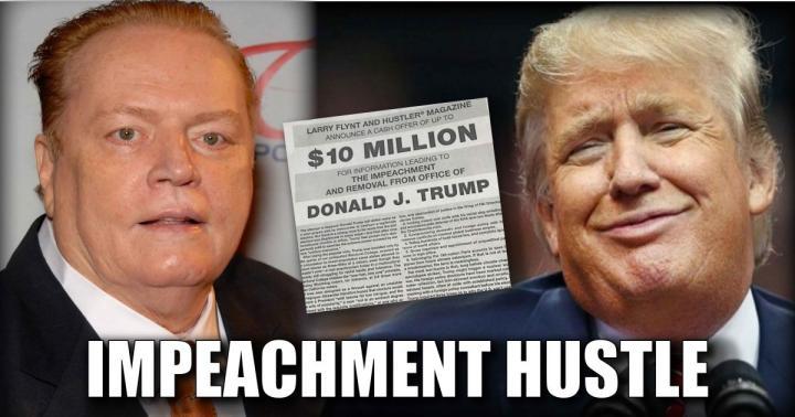 A Hustler pornómagazin tulajdonosa 10 millió dollárt ígért Donald Trumpot kompromittáló információkért