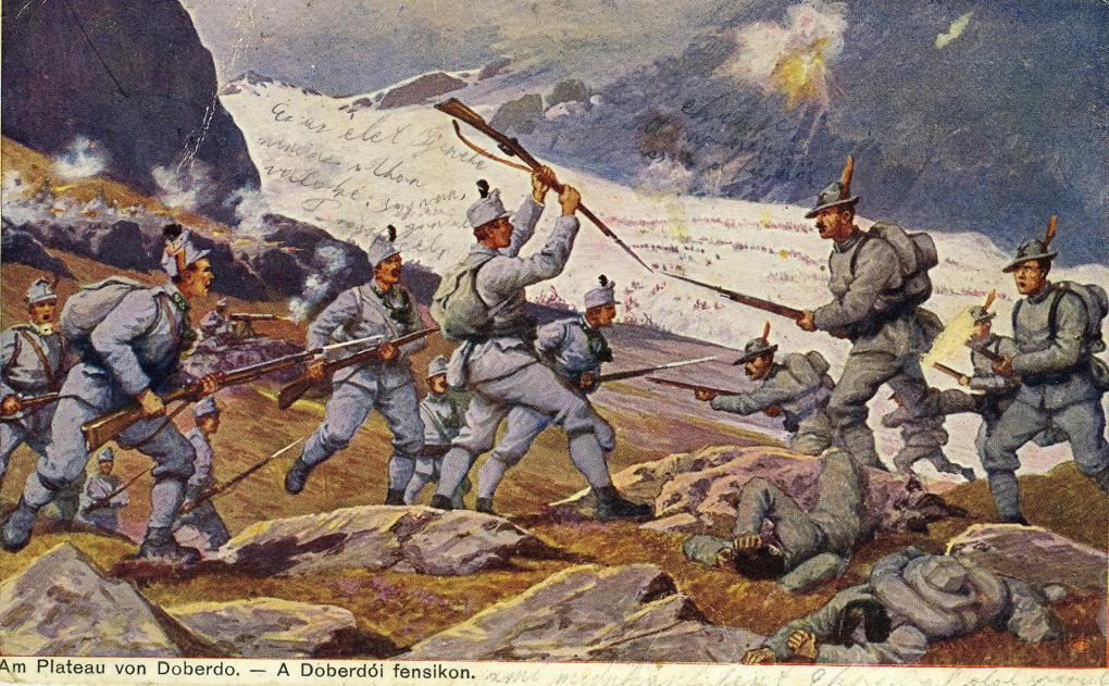 Történelmi időutazás az első világháború isonzói hadszínterein