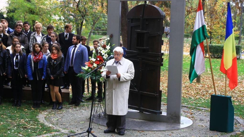 Az emberáldozat aktualitását emelték ki a kolozsvári megemlékezésen