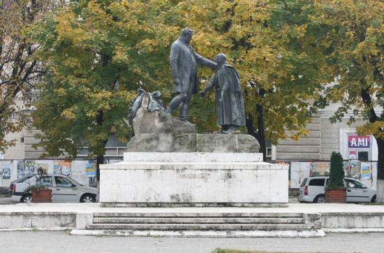 Felújítják a zilahi Wesselényi-szobor talapzatát