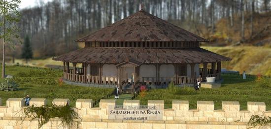 A dák főváros újraalkotott szentélyei