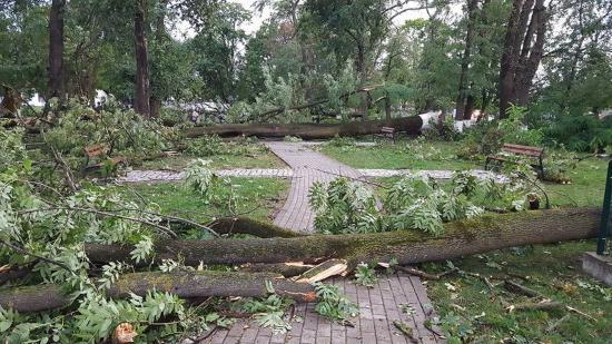 Természeti csapások nyomait számolják fel