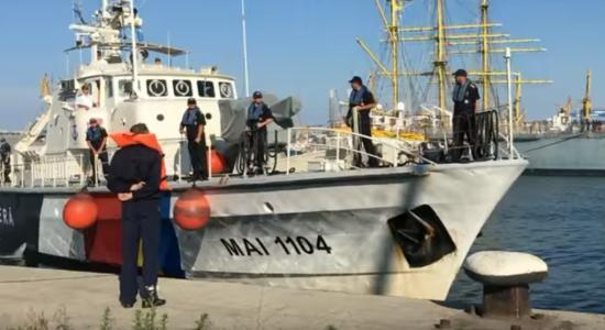 Több mint 120 bevándorlót mentett meg az Égei-tengeren a román parti őrség