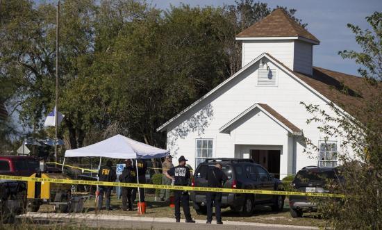 Texasban lebontják a templomot, ahol a lövöldözés volt