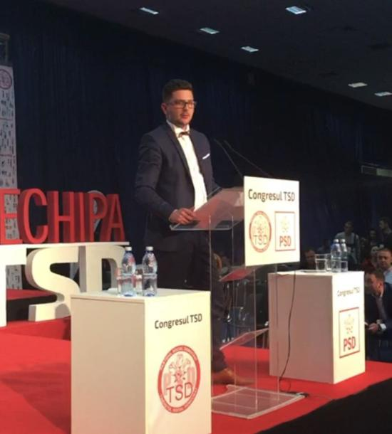 """""""Lépjetek túl az előző generációk rossz beidegződésein"""" – üzente Oltean Csongor a PSD fiataljainak"""